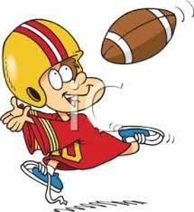 animated football clipart