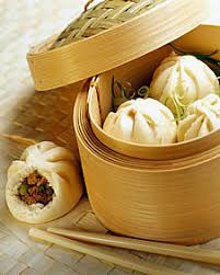 asian steamed dumplings