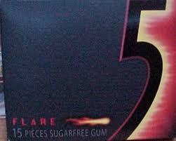 flare 5 gum