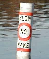 no wake buoys