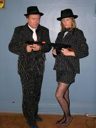 gangster couple costumes