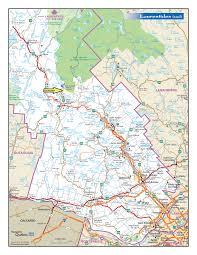 carte routiere du canada