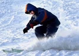 ice skiing