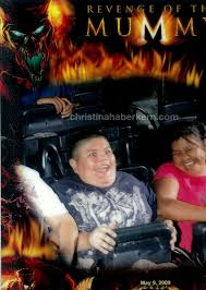 fat kid on roller coster