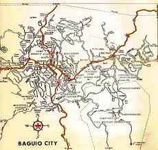 manila to baguio map