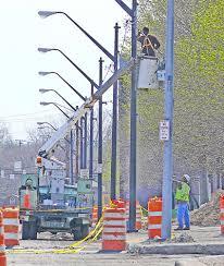 streetlight poles
