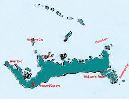 grand bahamas island map