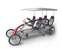 4 person bicycles