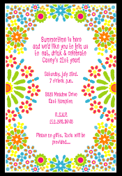 mexican fiesta party invitations