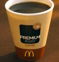 coffee mcdonalds