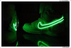 neon green nikes