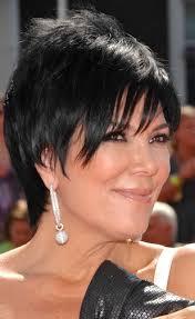 kris kardashian hair