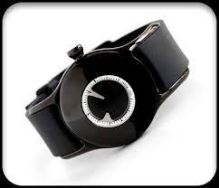 black wrist watches