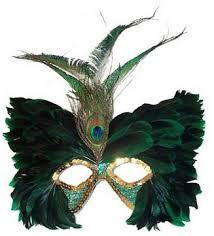 peacock masquerade masks