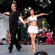 dancing cha cha