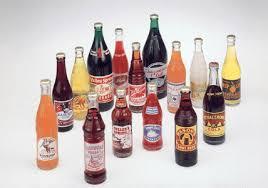 old soda bottle