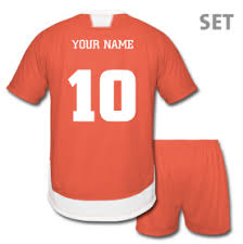 design your own football shirt