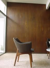mahogany wall paneling