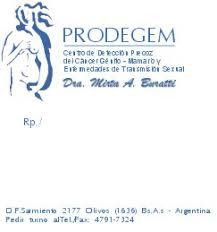 recetario medico