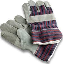 guantes cuero