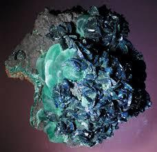 blue minerals
