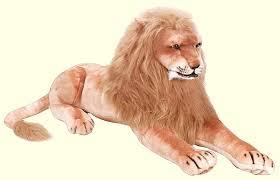 giant plush lion