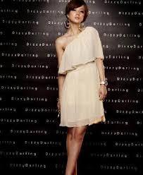 chiffon white dress