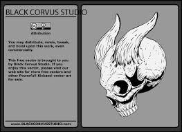 free skull art