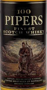 100 pipers whiskey