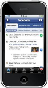 iphone facebook app