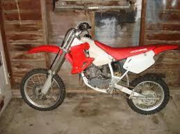 honda 2 stroke dirt bike