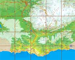costa tropical map