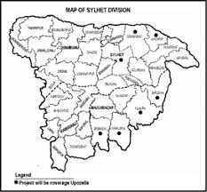 bangladesh sylhet map