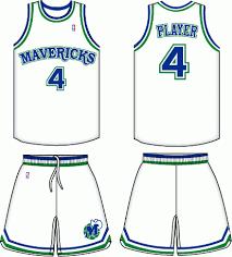 dallas mavericks uniforms