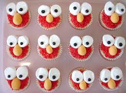 elmo cupcake ideas