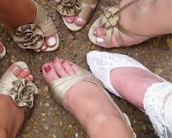 antique wedding shoes