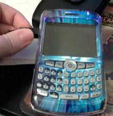 blackberry curve clear case