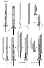 final fantasy advent children sword