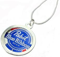 pabst blue ribbon bottle