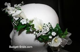 flower girl head wreaths