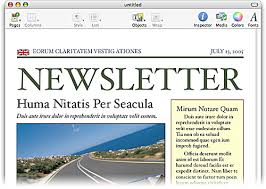 newsletter heading