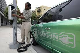 electric cars plug in