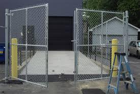 chainlink fence gates