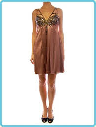 copper color dresses