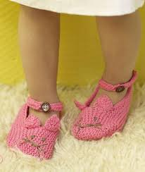 knitting slipper