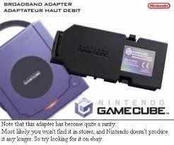 gamecube modem adapter