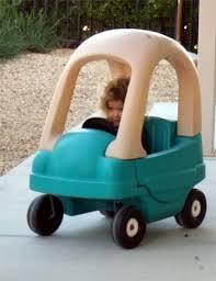 kids push cars