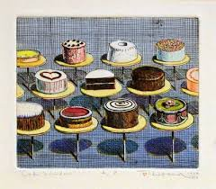 cakes by wayne thiebaud