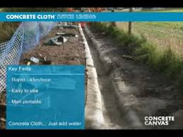 ditch lining
