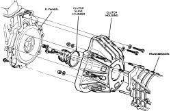 ford ranger transmission diagram